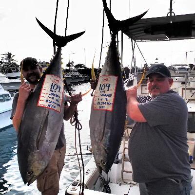 Kona hawaii fishing report jan wrap up bloodydecks for Bloodydecks fish report