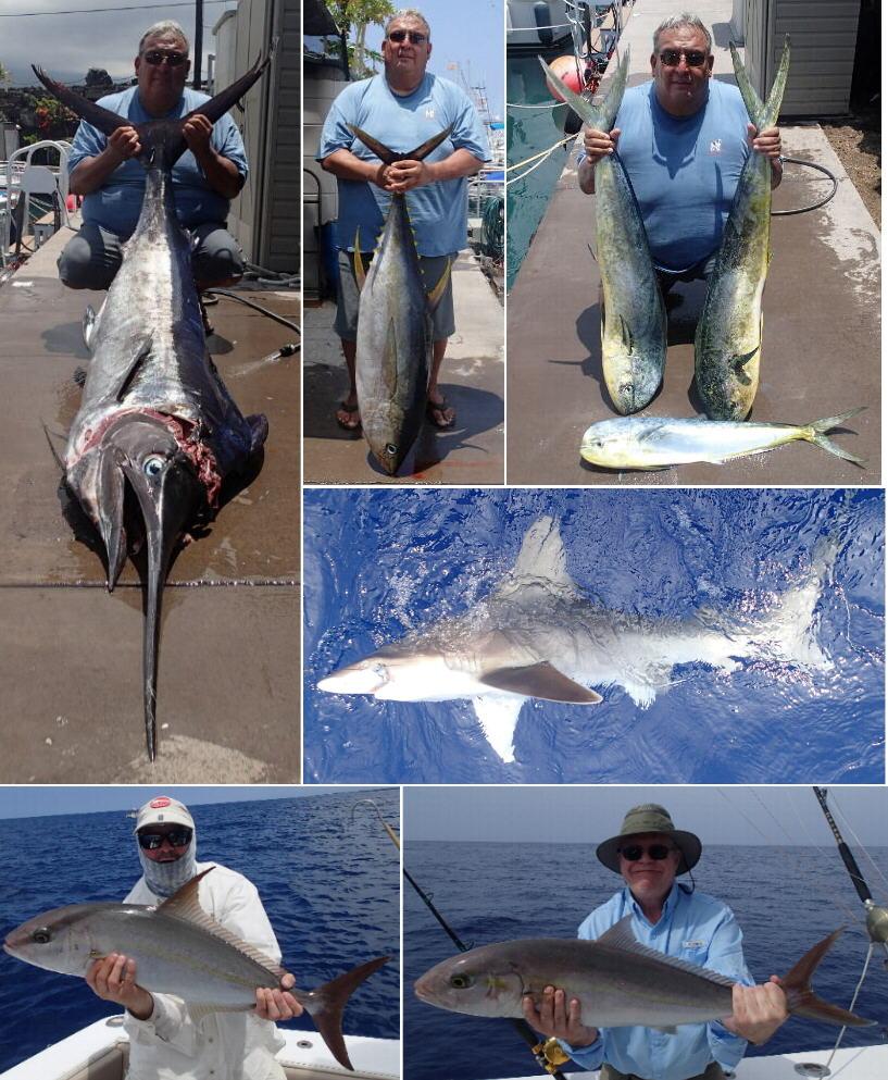 Kona hawaii fishing report apr wrap up bloodydecks for Bloodydecks fish report